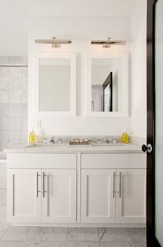 The Brooklyn Home Co It Is Possible To Have Double Sinks In A Small Master