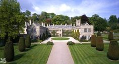 Lanhydrock Cornwall house and gardens open to the public.