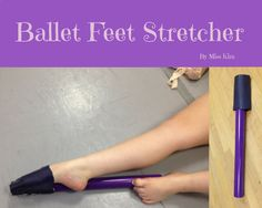 Ballet Feet Stretcher improves the arch and foot stretch of Dancers, Gymnasts, Ballerinas and Skaters. Great Dancer Gift!  FREE US Shipping! by BalletFeetStretcher on Etsy