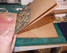Step by Step Paper Bag Album Tutorial by Shell Carman
