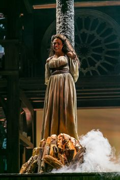 THE HUNCHBACK OF NOTRE DAME at Paper Mill Playhouse Photos by Jerry Dalia -- Ciara Renée as Esmeralda