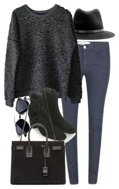 """""""Untitled #7197"""" by nikka-phillips ❤ liked on Polyvore featuring rag & bone…"""