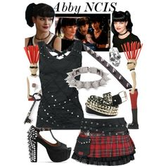"""""""Abby NCIS"""" by felizim on Polyvore"""