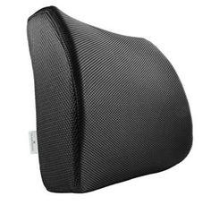 PharMeDoc Lumbar Support Pillow - Adjustable Memory Foam Seat Cushion, x x 4 inches Futon Chair, Chair Pads, Sheepskin Seat Covers, Look Good Feel Good, Support Pillows, Pillow Reviews, Seat Cushions, Memory Foam, Travel Pillows