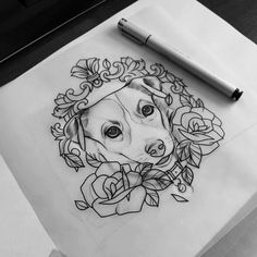 Tattoo sketch