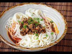 Dan Dan Noodles - How to Make Authentic, Street Food style Dandan Noodles (担担面) - YouTube