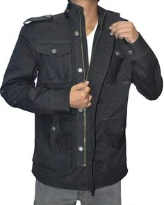 Specification: Genuine Lambskin Leather Internal Viscose Lining Zip Closure and Snap-Tab Collar Four Zipped Front and Two Internal Pockets Brown (Hand Wax Finishing) Castle Jackets, Frank Castle Punisher, Lambskin Leather, Leather Jacket, Famous Celebrities, Cotton Jacket, Daredevil, Christmas Sale, Black Cotton