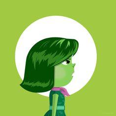 Official Pixar Inside Out Artwork on Behance