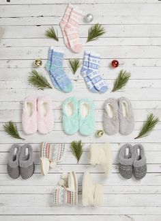 Yes to all the warm and fuzzy slippers and socks! Must haves for winter! #gordmans
