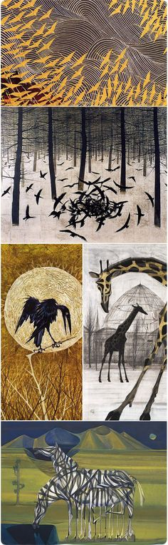 Matazo KAYAMA (1927-2004), Japan 加山又造 - similar to my abc graphics