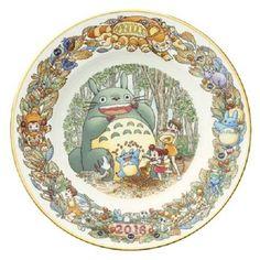Noritake My Neighbor Totoro 2016 Yearly Plate Studio Ghibli Japan New JPN #Noritake