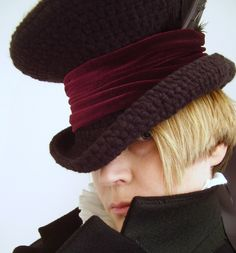 Steampunk Master Charles Dickens Top hat New Victorian Mad hatter. £49.99, via Etsy.