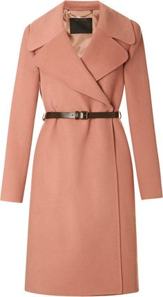 marc Jacobs Doublefaced Cashmere Belted Coat - Lyst