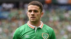 Norwich City star Robbie Brady was swooped up by Burnley during the January transfer window in a bid to solidify their status as a Premier League side - Transfer Window, International Football, Burnley, Republic Of Ireland, Premier League, Hot Guys, Sports, Goal, Irish