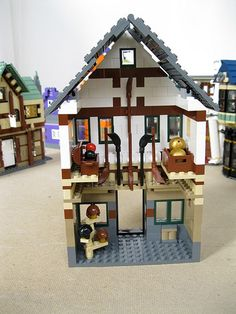 Lego Diagon Alley MOC | The Quality Quidditch Supply store i… | Flickr