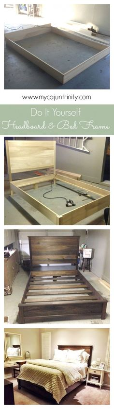 Check out the tutorial on how to build a headboard and bed frame @istandarddesign