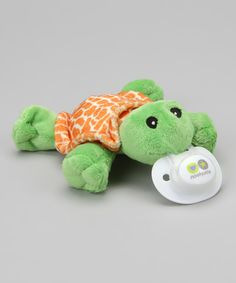 Love this Nookums Tickles Turtle Shakie Pacifier Holder by Nookums on #zulily! #zulilyfinds