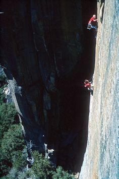 John Bachar, El Capitan, CA Credits George Meyers Trekking, Solo Climbing, Ski, Yosemite California, Escalade, Golden Days, Valley Girls, Kayak, New View