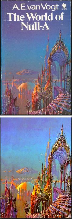 BRUCE PENNINGTON - The World of Null-A by A. E. van Vogt - cover by isfdb - print by xandri.tumblr.com