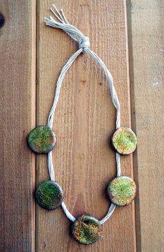 Scented salt dough pendants salt dough diy necklace and craft aloadofball Gallery