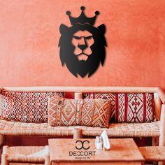Deccort | Lion King Metal Tablo Metal, Frame, Poster, Instagram, Home Decor, Homemade Home Decor, Metals, Posters, Interior Design
