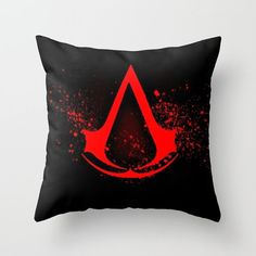 Pillow video games Assassins creed geek friki by HaikuStore