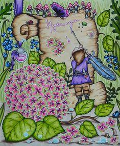 Milovane neznosti Klara Markova Colouring Pages, Adult Coloring Pages, Coloring Books, Markova, Colouring Techniques, Fairy, Colorful, Flowers, Pictures
