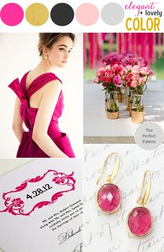 The Perfect Palette: Color Story | The WOW Factor! ...LOVE this!!