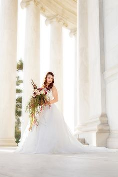 Washington DC is a short drive from Northern Virginia making the monuments and memorials options for brides and wedding parties. Worth the trip with options that are limitless!