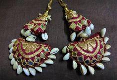 Cowrie Shell Tassels Purse & Handbag Decoration Fabric Trim