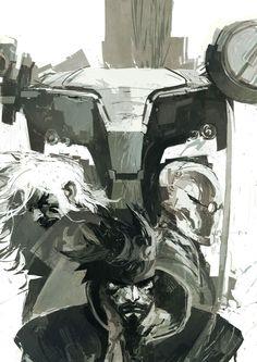 Metal Gear Solid by Ashley Wood *