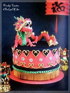 gong xi fa cai - Cake by Wendy Schlagwein