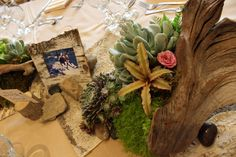 Eggsotic Events NJ Succulent Wedding Decor Centerpieces Lighting and Bouquets Boutonnieres Floral Design Stone House Stirling Ridge NJ 03