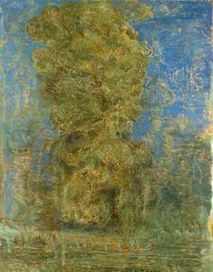 """Eric Holzman, The Sky is Crying I, 89 x 69"""", oil on canvas, 2004"""