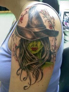 View topic - Introducing the Wicked Witch :: Tattoo Forum at Everytattoo.com