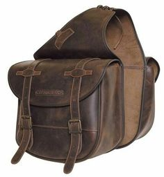This is a brilliant choice if you want Leather Saddle Bags, Leather Men, Leather Backpack, Motorcycle Accessories, Leather Accessories, Motorcycle Saddlebags, Biker Gear, Bike Bag, Motorcycle Leather