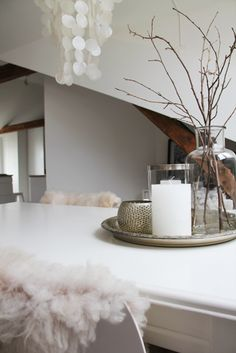Styling Inspo - White with natural textures and elements