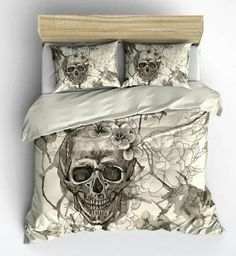 more skull bedding
