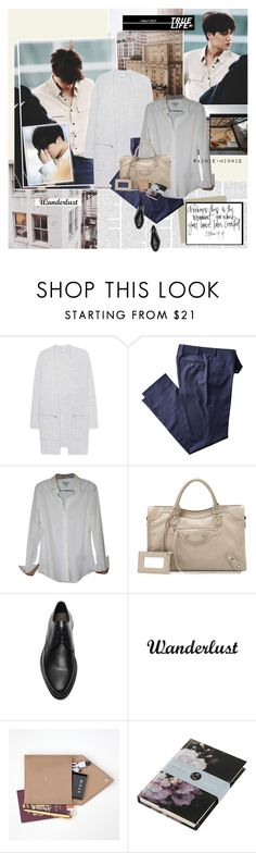 """How far will be close to nearest distance.."" by rainie-minnie ❤ liked on Polyvore featuring iHeart, Burberry, Balenciaga, Lanvin, STOW and Boho & Co"