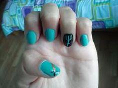 percy jackson nails!!!