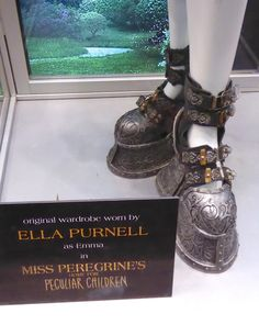 Emma costume boots Miss Peregrine's Home for Peculiar Children