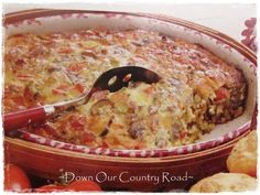 Down Our Country Road:   Sausage Brunch Casserole