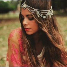 hairstyles for fall: head jewelry