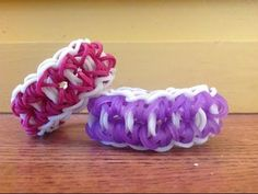 *NEW!* PENTALOCK Bracelet for the Rainbow Loom. Designed and loomed by OfficiallyLoomed. - Click on photo for YouTube tutorial.