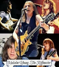Malcolm Young ...The Riffmaster.