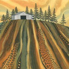 Conifer Cabin by Rebecca Vincent