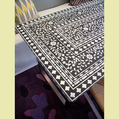 Indian Inlay Furniture Stencil Kit by Kim Myles @Jaymie Cutting Edge Stencils Stencils