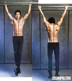 Kwon Sang Woo. How is it possible to see every damn muscle in his entire back?