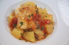 """Stoccafisso con patate in cassuola de """"La Lanterna"""" Questo piatto è ottimo anche da servire come zuppa."""