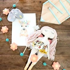 Geelong has some serious talent our gorgeous 'coin bank' and 'custom fairy doll' just use those search terms to find them on dtll.com.au (link in profile) and you can thanks @geelongcreatives for the fab #flatlay #pastels #coinbank #fairy